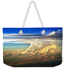 Fire In The Sky From 35000 Feet Weekender Tote Bag