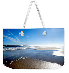 #nowivearrived Weekender Tote Bag by Becky Furgason