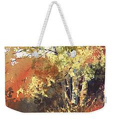 Fire Season Weekender Tote Bag