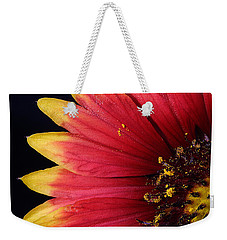 Weekender Tote Bag featuring the photograph Fire Spokes by Paul Rebmann