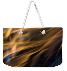Weekender Tote Bag featuring the photograph Fire by Yulia Kazansky