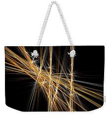 Weekender Tote Bag featuring the digital art Firecracker by Menega Sabidussi