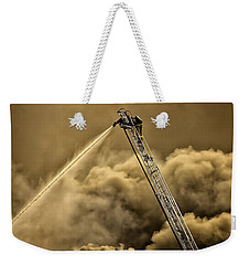 Firefighter-heat Of The Battle Weekender Tote Bag