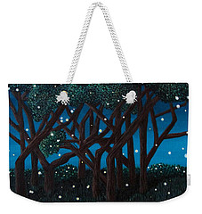 Fireflies Weekender Tote Bag by Cheryl Bailey