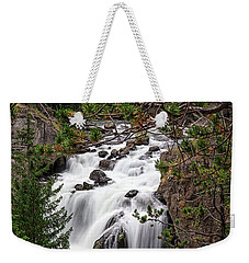 Firehole River Waterfall Yellowstone Np Weekender Tote Bag