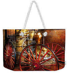 Fireman - One Day A Long Time Ago  Weekender Tote Bag by Mike Savad