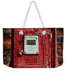 Fireman - The Fire Alarm Box Weekender Tote Bag
