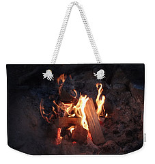 Fireside Seat Weekender Tote Bag by Michael Porchik