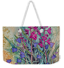 Fireweed And Bluebells Weekender Tote Bag