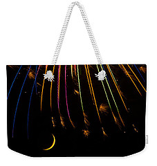 Firework Indian Headdress Weekender Tote Bag
