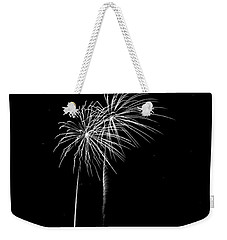 Firework Palm Trees Weekender Tote Bag