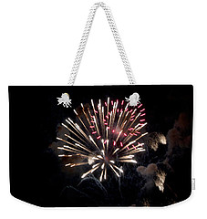 Fireworks At Night Weekender Tote Bag