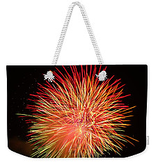 Fireworks  Weekender Tote Bag by Michael Porchik