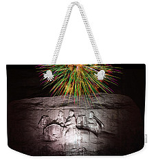 Fireworks Over Stone Mountain Weekender Tote Bag