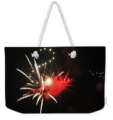 Fireworks Weekender Tote Bag by Rowana Ray