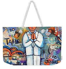 First Communion Boy Weekender Tote Bag