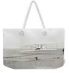 First Flight Captured On Glass Negative - 1903 Weekender Tote Bag