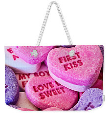 Weekender Tote Bag featuring the photograph Valentines Day by Vizual Studio