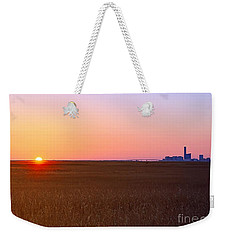 First Light Of 2015 Weekender Tote Bag