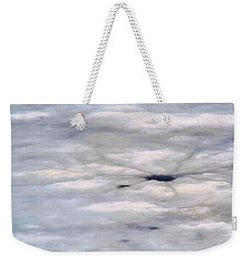 Weekender Tote Bag featuring the photograph First Thaw by Nadalyn Larsen