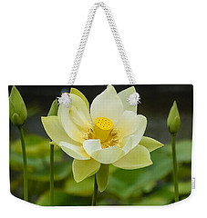 First To Bloom Weekender Tote Bag