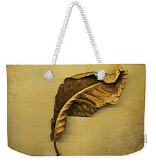 First To Fall Weekender Tote Bag by Jan Bickerton