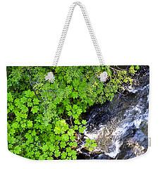Fish Creek In Summer Weekender Tote Bag