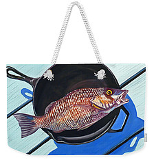 Fish Fry Weekender Tote Bag