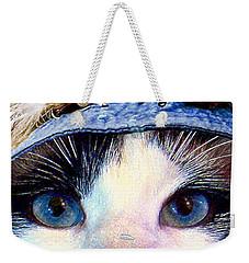 Fisher Cat Weekender Tote Bag