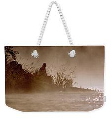 Fisher In The Mist Weekender Tote Bag