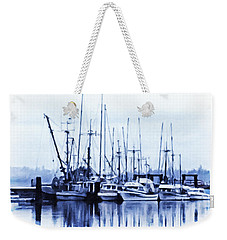 Fishers' Wharf Weekender Tote Bag by Richard Farrington