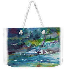 Fishin' Hole 2 Weekender Tote Bag by C Sitton