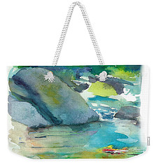 Fishin' Hole Weekender Tote Bag by C Sitton