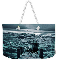 Fishing Above The Clouds Weekender Tote Bag