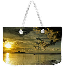 Fishing Before Dark Weekender Tote Bag