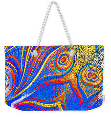 Fishing For Colours Weekender Tote Bag by Alec Drake