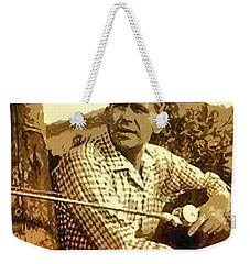 Fishing From The Dock Weekender Tote Bag