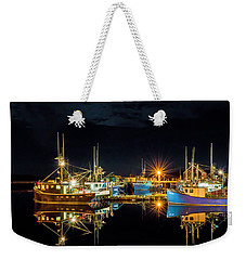 Fishing Hamlet Weekender Tote Bag