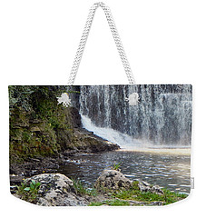 Weekender Tote Bag featuring the photograph Fishing Hole by Deb Halloran