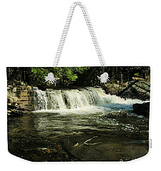 Weekender Tote Bag featuring the photograph Fishing Hole by Sherman Perry