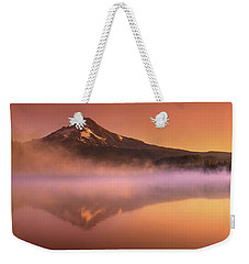 Fishing In The Fog Weekender Tote Bag