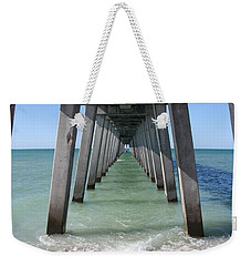 Fishing Pier Architecture Weekender Tote Bag