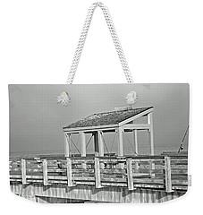Fishing Pier Weekender Tote Bag by Tikvah's Hope