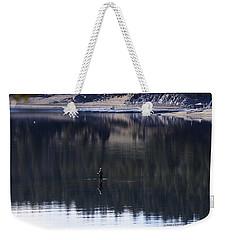 Fishing The Missouri River Weekender Tote Bag by Kae Cheatham