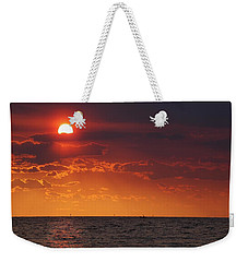 Fishing Till The Sun Goes Down Weekender Tote Bag