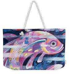 Fishstream Weekender Tote Bag