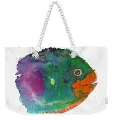 Fishy Weekender Tote Bag