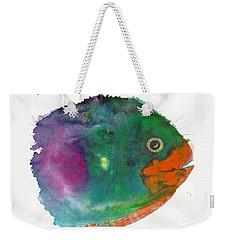 Fishy Weekender Tote Bag by Joan Hartenstein