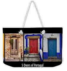 Five Doors Of Portugal Weekender Tote Bag