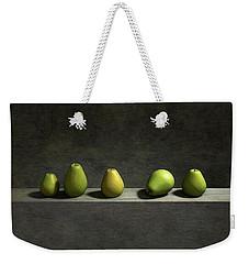 Five Pears Weekender Tote Bag by Cynthia Decker